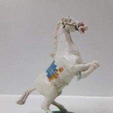 Gummi- und PVC-Figuren - CABALLO CON BASE . REALIZADO POR ESTEREOPLAST . AÑOS 50 / 60 - 155489914