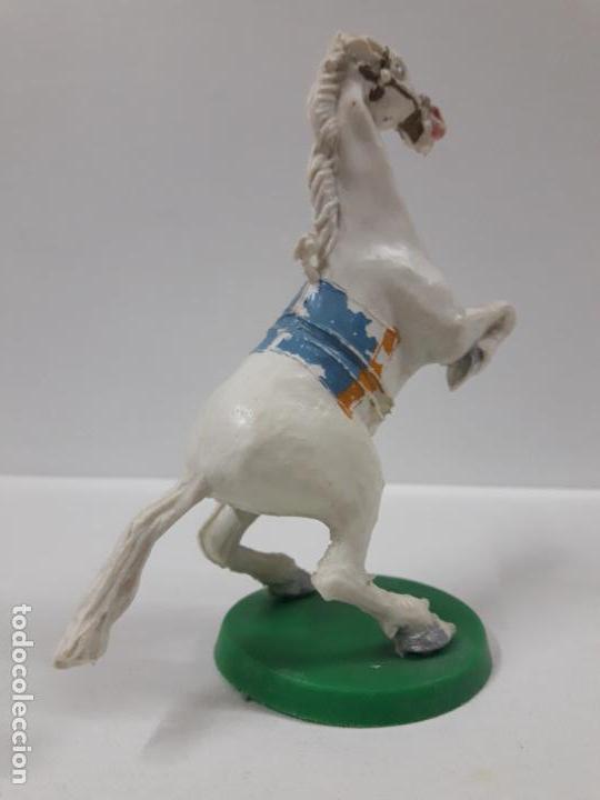Figuras de Goma y PVC: CABALLO CON BASE . REALIZADO POR ESTEREOPLAST . AÑOS 50 / 60 - Foto 4 - 155489914