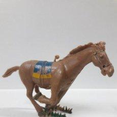 Figuras de Goma y PVC: CABALLO AL GALOPE . REALIZADO POR ESTEREOPLAST . AÑOS 50 / 60. Lote 155490130