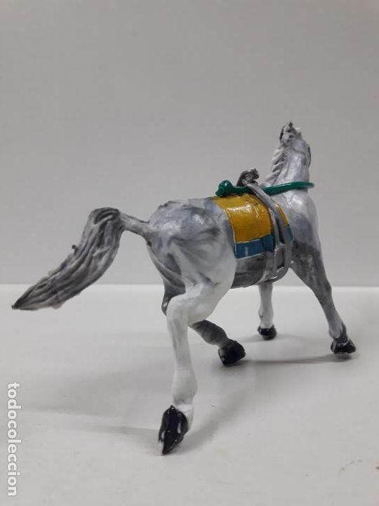 Figuras de Goma y PVC: CABALLO CON RIENDA Y ESTRIBO . REALIZADO POR ESTEREOPLAST . AÑOS 50 / 60 - Foto 4 - 155490378