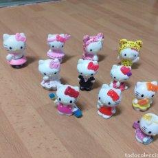 Figuras de Goma y PVC: LOTE 11 MUÑECOS HELLO KITTY. Lote 155490886