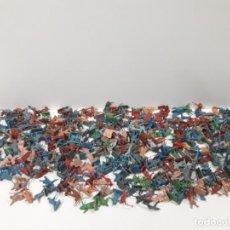 Figuras de Goma y PVC: LOTE DE SOLDADITOS MONTAPLEX . AÑOS 70 / 80. Lote 155494342