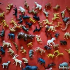 Figuras de Goma y PVC: FIGURAS DE ANIMALES. 70 FIGURAS. Lote 155496422