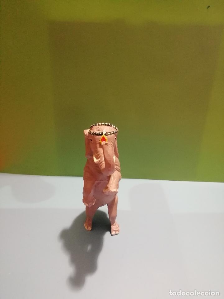 Figuras de Goma y PVC: FIGURA DE ELEFANTE DEL CIRCO JECSAN, EN PLASTICO - Foto 3 - 155500354