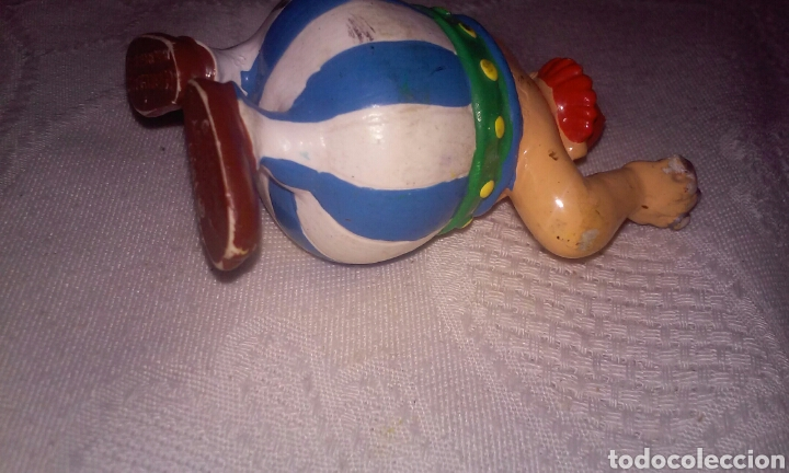 Figuras de Goma y PVC: OBELIX (GOSCINNY UDERZO) BULLYLAND MADE IN GERMANY 1990 - Foto 5 - 155508714