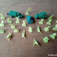 Figuras de Goma y PVC: SOLDADOS MONTAPLEX. Lote 155616358