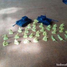 Figuras de Goma y PVC: SOLDADOS MONTAPLEX. Lote 155616718