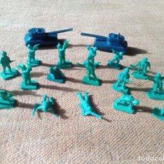 Figuras de Goma y PVC: SOLDADOS AMERICANOS MONTAPLEX. Lote 155637558