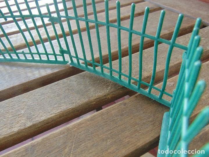 Figuras de Goma y PVC: LOTE DE VALLAS DE COMANSI CIRCO ZOO O SIMILAR - Foto 4 - 155659806