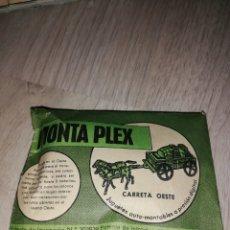 Figuras de Goma y PVC: MONTAPLEX CARRETA OESTE. Lote 155683541