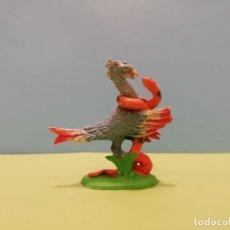 Figuras de Goma y PVC: LUCHAS DE ANIMALES, PECH. SERPIENTE CONTRA PÁJARO SECRETARIO. Lote 155703682