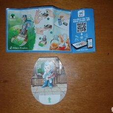 Figuras Kinder: FIGURA KINDER JOY SD733 +BPZ TEEN IDOLS LO QUE SE VE EN LA FOTO. Lote 155707853