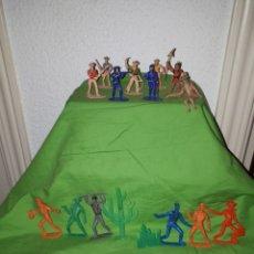 Figuras de Goma y PVC: BUEN LOTE FIGURAS PVC COMANSI PECH O JECSAN AÑOS 70 VARIOS TAMAÑOS. Lote 155789368