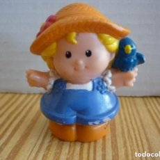 Figuras de Goma y PVC: FIGURA LITTLE PEOPLE FISHER PRICE MATTEL. Lote 155790082