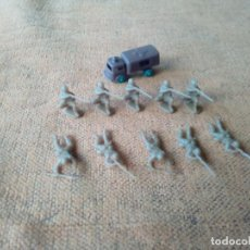 Figuras de Goma y PVC: SOLDADOS MONTAPLEX. Lote 155791626