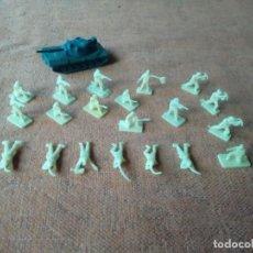 Figuras de Goma y PVC: SOLDADOS MONTAPLEX. Lote 155791746
