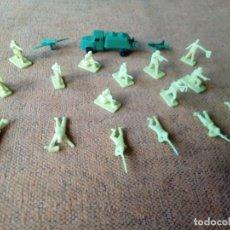 Figuras de Goma y PVC: SOLDADOS MONTAPLEX. Lote 155791886