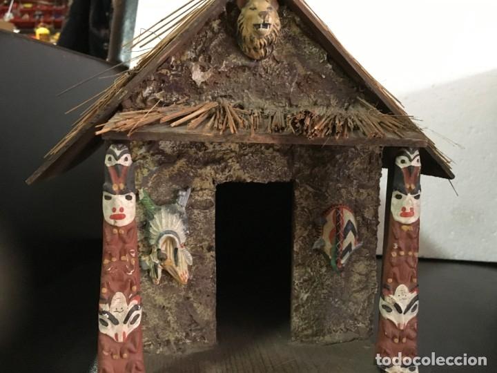 Figuras de Goma y PVC: RECEPCION EN POBLADO AFRICANO - Foto 8 - 145395154