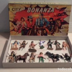 Figuras de Goma y PVC: CAJA BONANZA PECH CON 13 FIGURAS - RESTAURADA Y ALGUNA FIGURA REPINTADA. Lote 155818102