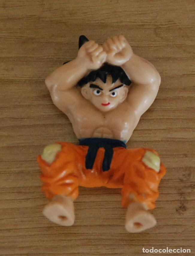 BOLA DE DRAGON FIGURA PVC GOKU BSB 1989 (Juguetes - Figuras de Goma y Pvc - Otras)