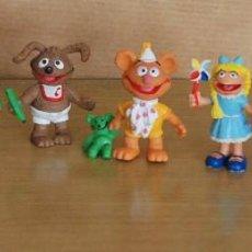 Figuras de Goma y PVC: LOTE 8 FIGURAS PEQUEÑECOS MUPPET BABIES COMICS SPAIN AÑOS 80.. Lote 155862470