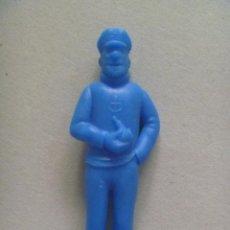 Figuras de Goma y PVC: FIGURA DE DUNKIN DE TINTIN , PREMIUM : CAPITAN HADDOCK .. DETRAS PONE ESSO.. Lote 194221897