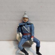 Figurines en Caoutchouc et PVC: FIGURA DE TEIXIDO ARTICULADA ESCOLTA DE GENERALÍSIMO MUY ESCASA. Lote 155993721