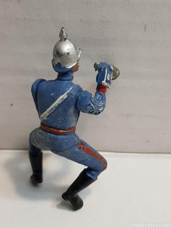 Figuras de Goma y PVC: Figura de Teixido articulada escolta de Generalísimo corneta escaso y buscado - Foto 4 - 155994962