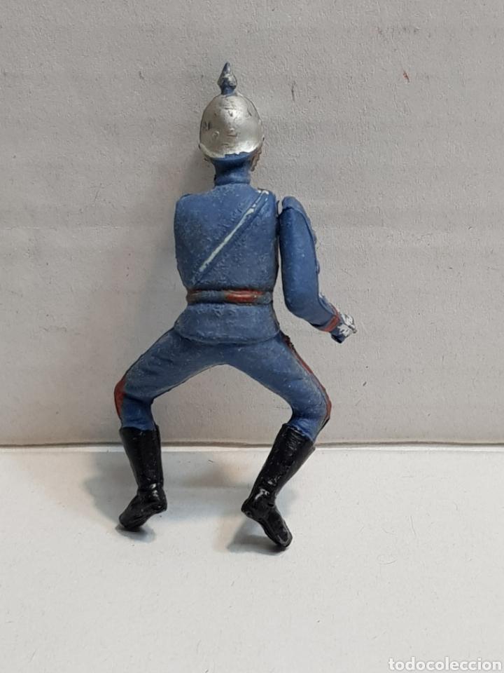 Figuras de Goma y PVC: Figura de Teixido articulada escolta de Generalísimo escasa - Foto 2 - 155995276