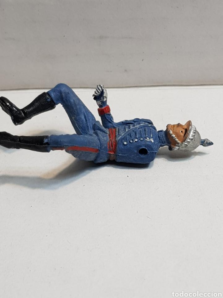 Figuras de Goma y PVC: Figura de Teixido articulada escolta de Generalísimo escasa - Foto 3 - 155995276