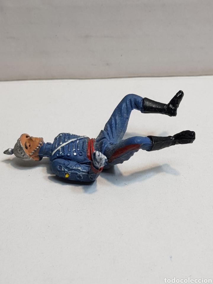 Figuras de Goma y PVC: Figura de Teixido articulada escolta de Generalísimo escasa - Foto 4 - 155995276