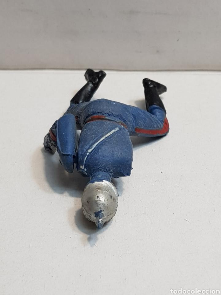 Figuras de Goma y PVC: Figura de Teixido articulada escolta de Generalísimo escasa - Foto 5 - 155995276
