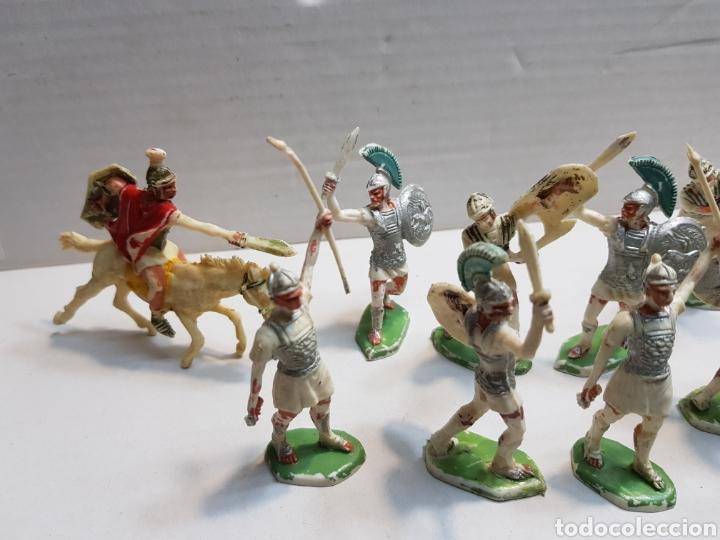 Figuras de Goma y PVC: Figuras Rojas y Maralet Romanos y Cartagineses lote muy completo y escaso - Foto 3 - 155285636