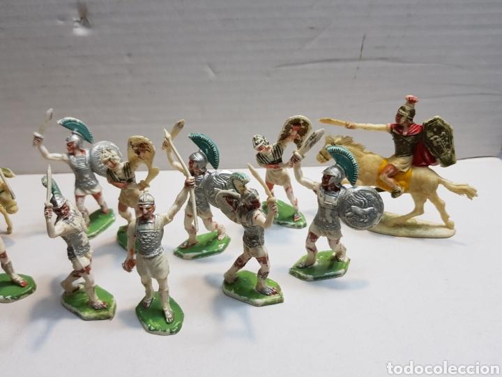 Figuras de Goma y PVC: Figuras Rojas y Maralet Romanos y Cartagineses lote muy completo y escaso - Foto 4 - 155285636