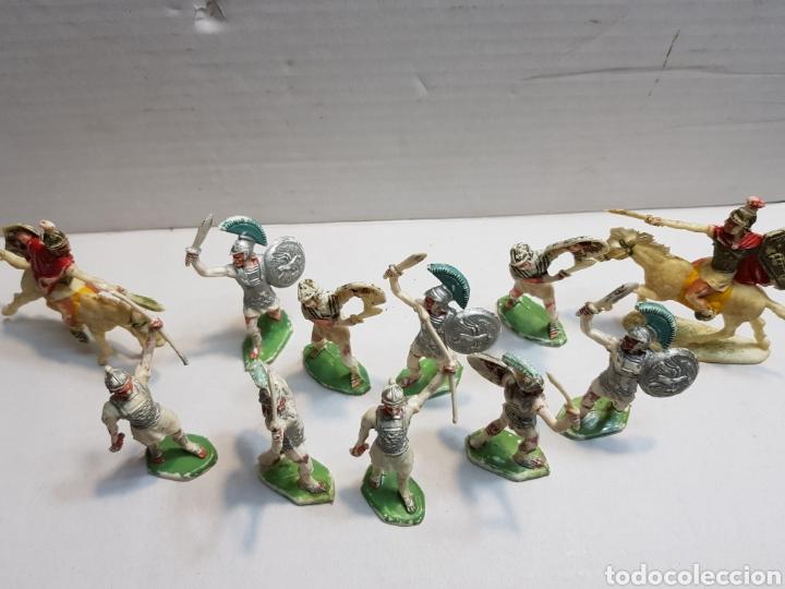 Figuras de Goma y PVC: Figuras Rojas y Maralet Romanos y Cartagineses lote muy completo y escaso - Foto 5 - 155285636