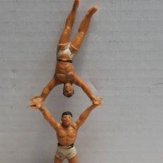 Figuras de Goma y PVC: FIGURA CIRCO JECSAN MALABARISTA MASCULINOS ESCASOS. Lote 155996658