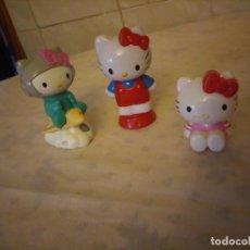 Figuras de Goma y PVC: LOTE DE 3 FIGURAS HELLO KITTY SANRIO.. Lote 155996834