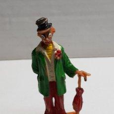 Figuras de Goma y PVC: FIGURA DE JECSAN SERIE CIRCO PAYASO CON PARAGUAS. Lote 155997370