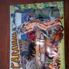 Figuras de Goma y PVC: CARAVANA SOTORRES CON CARRETA. Lote 156365950