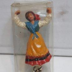 Figuras de Goma y PVC: FIGURA JECSAN SERIE FOLKLÓRICO ARAGONESA EN BLISTER ORIGINAL. Lote 156526462
