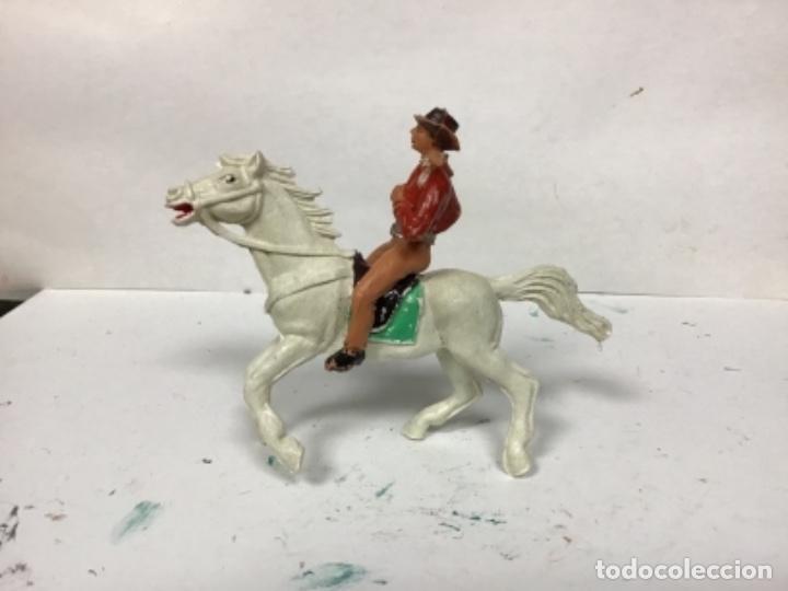 Figuras de Goma y PVC: FIGURA VAQUERO JECSAN COWBOY OESTE WESTERN JECSAN JECSARAMAS - Foto 2 - 156562738