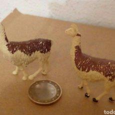 Figuras de Goma y PVC: YAMAS DE GOMA BRITAINS ANIMALES. Lote 156569392