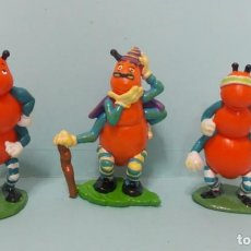 Figuras de Goma y PVC: FIGURAS PROMOCIONALES - FAMILIA HORMIGAS - LOTE 3. Lote 156595758