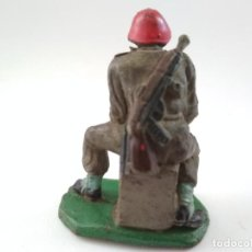 Figuras de Goma y PVC: SOLDADO AMERICANO PECH GOMA. Lote 156607942