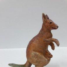 Figuras de Goma y PVC: CANGURO . REALIZADO POR PECH . SERIE FIERAS - HISTORIA NATURAL . AÑOS 50 EN GOMA. Lote 156624314