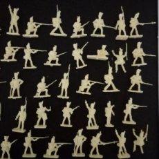 Figuras de Goma y PVC: AIRFIX HO-1/72: BATALLA DE WATERLOO 46 SOLDADOS INGLESES Y FRANCESES. AÑOS 70. PTOY. Lote 156648998