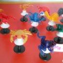 Figuras de Goma y PVC: LOTE 10 UNID. PULGA SALTARINA.HONG KONG 70S.NUEVAS.. Lote 156657428