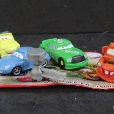 Figuras Kinder: KINDER CARS PIXAR. Lote 156658146