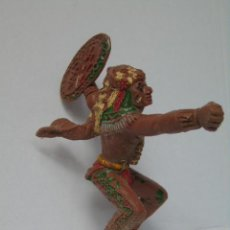 Figuras de Goma y PVC: FIGURA GOMA GUERRERO INDIO LAFREDO ? SERIE GRANDE. Lote 156667338