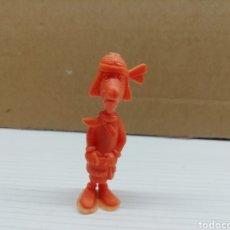 Figuras de Goma y PVC: FIGURA DUNKIN...LUCKY LUKE...DARGAUD...GRANDE...(INDIO ALTO).... Lote 116701459